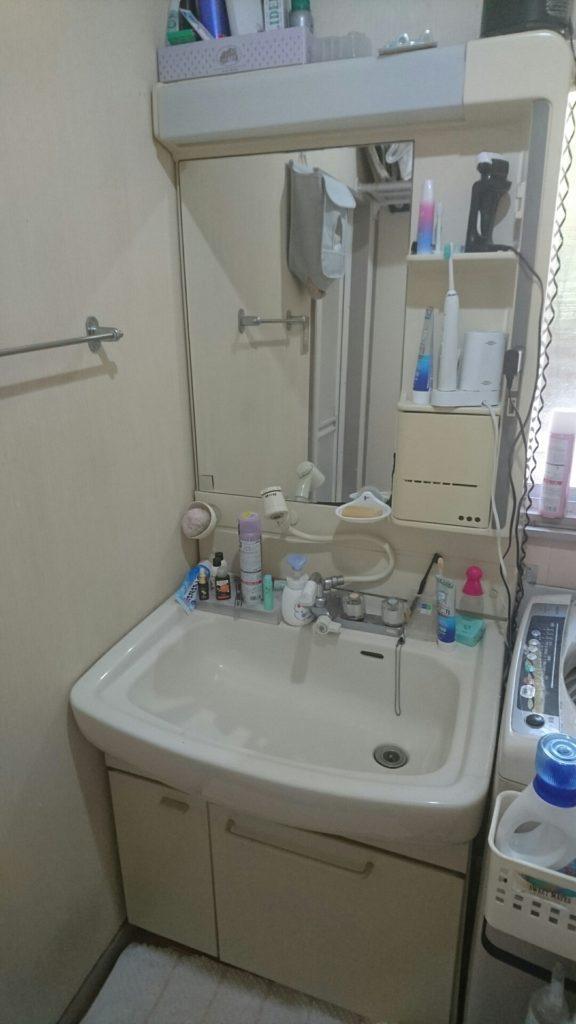 静岡県沼津市で洗面の水漏れ修理にお伺い