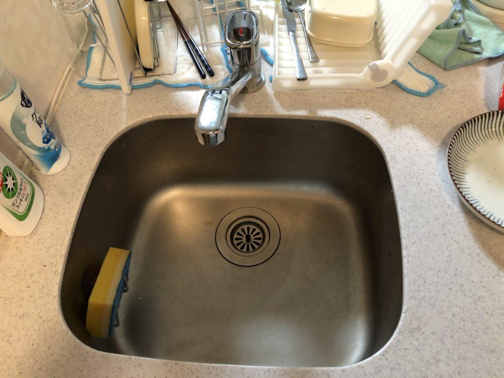 静岡県湖西市で台所の水が止まらないお客様