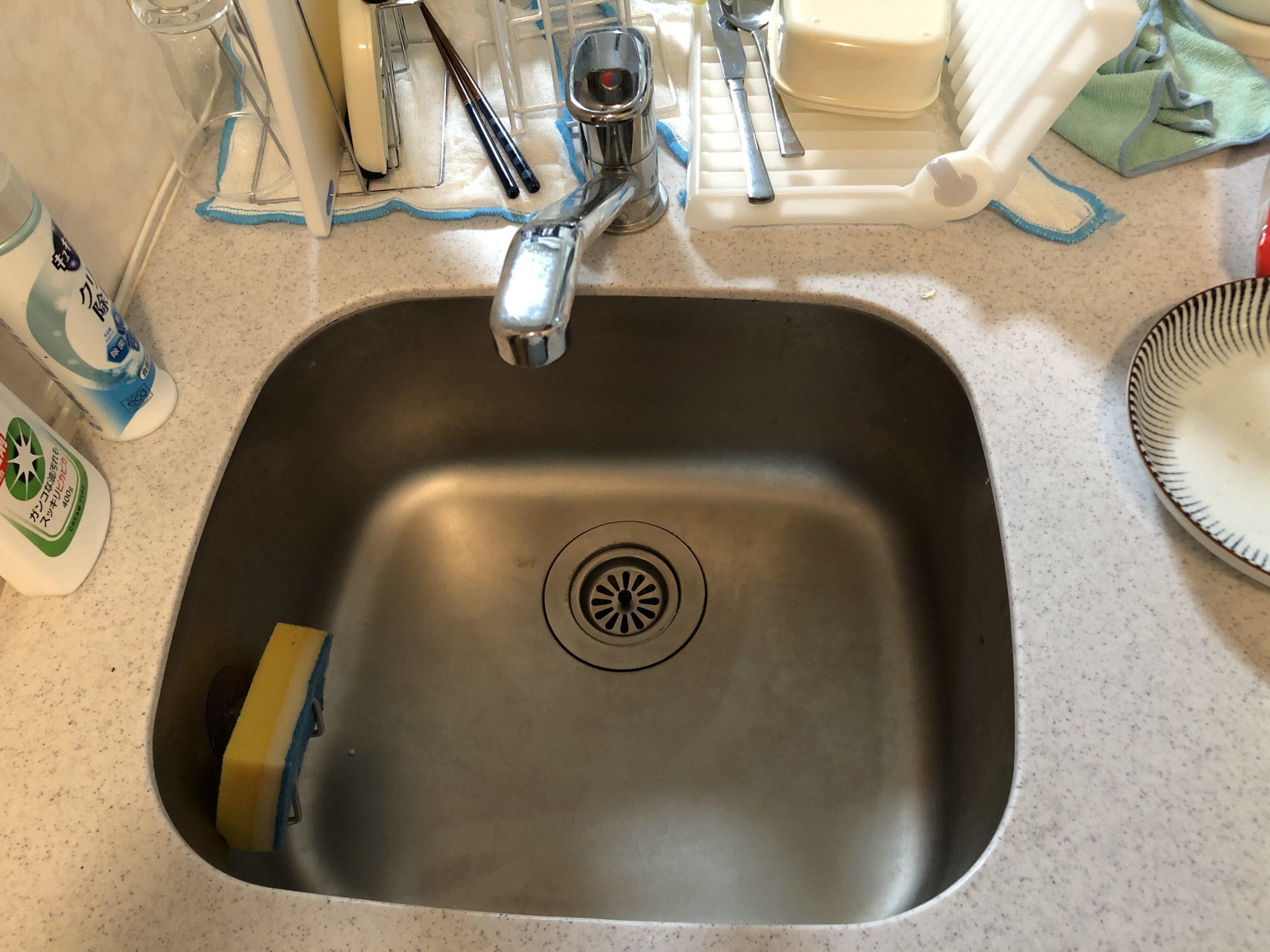 台所蛇口水漏れ
