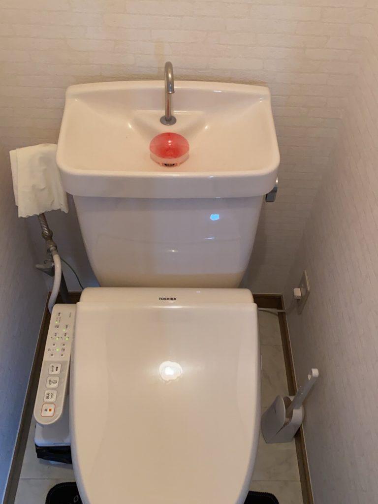 静岡県浜松市でトイレの詰まり施工事例