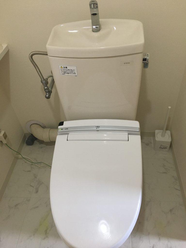 静岡県富士市でトイレの床が水漏れでご連絡頂きました。