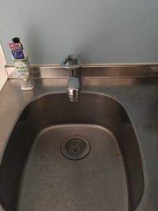 台所の蛇口水漏れ