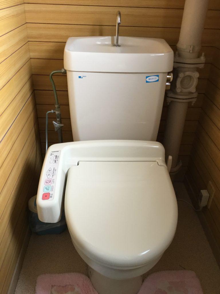 磐田市でトイレの水漏れ修理施工事例