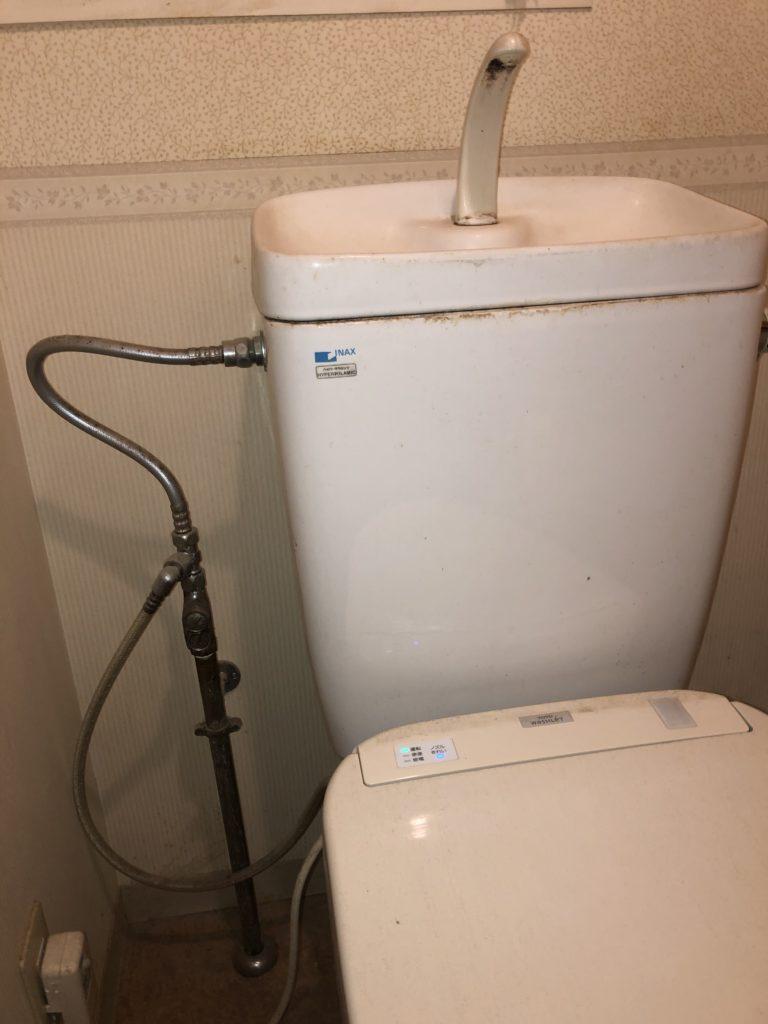 静岡市葵区でトイレ水漏れ修理施工事例