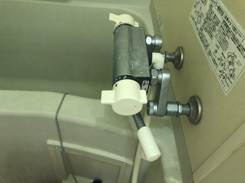 静岡市でお風呂の蛇口水漏れ修理の施工事例