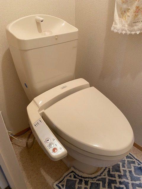 浜松市でトイレ水漏れ修理の施工事例