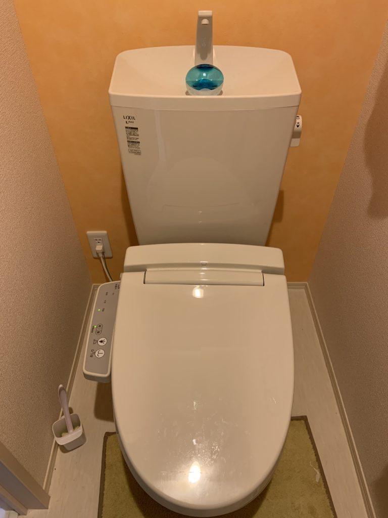 伊豆市でトイレ水漏れ修理にお伺いしました。