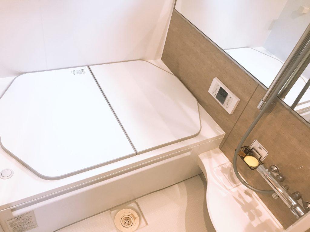浜松市で浴室の排水つまり修理施工事例