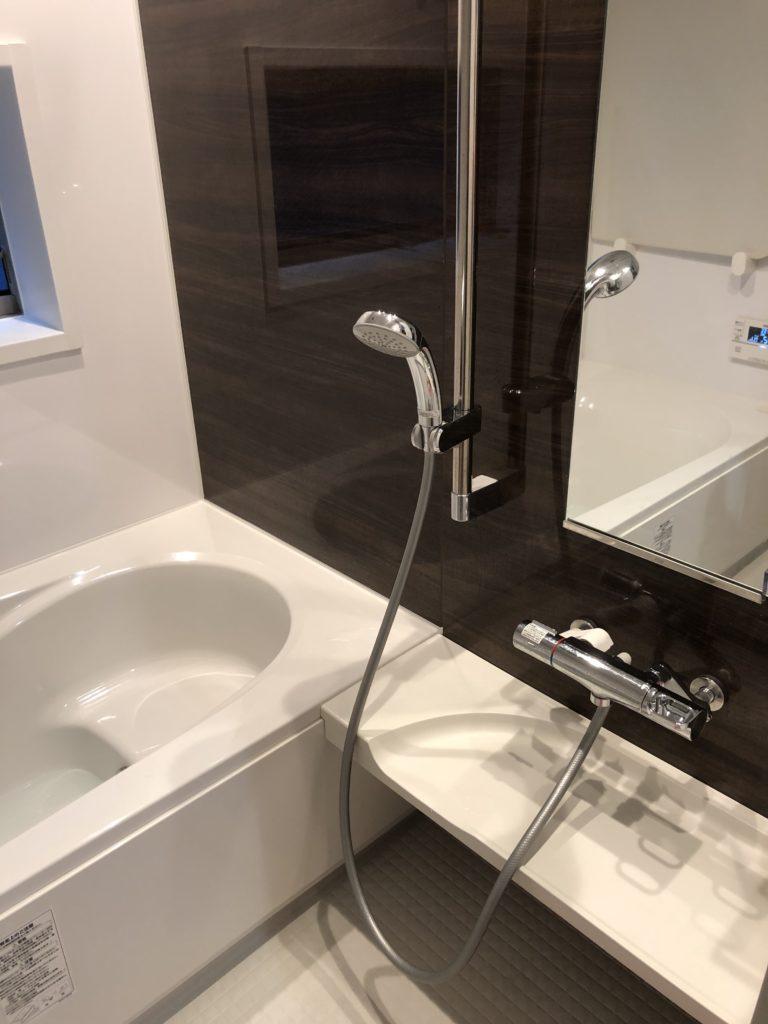 熱海市で浴室のシャワー水漏れ修理施工事例