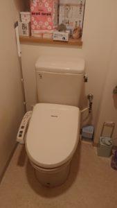 トイレ水漏れ