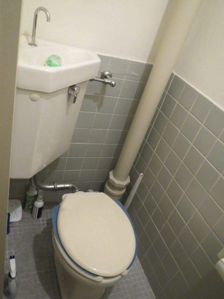 富士宮市でトイレの部品交換作業事例