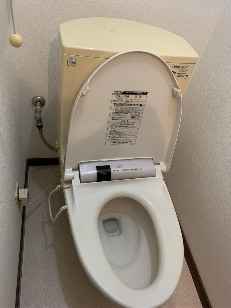 静岡市でトイレの水漏れトラブルを解消しました。