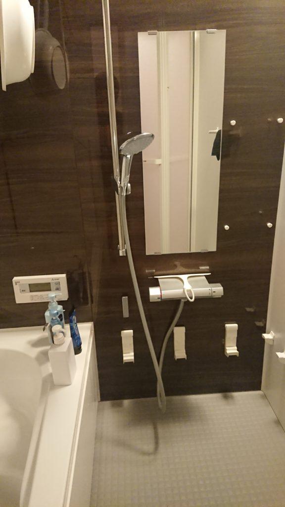 浜松市で浴室の蛇口が水漏れして修理を行いました。