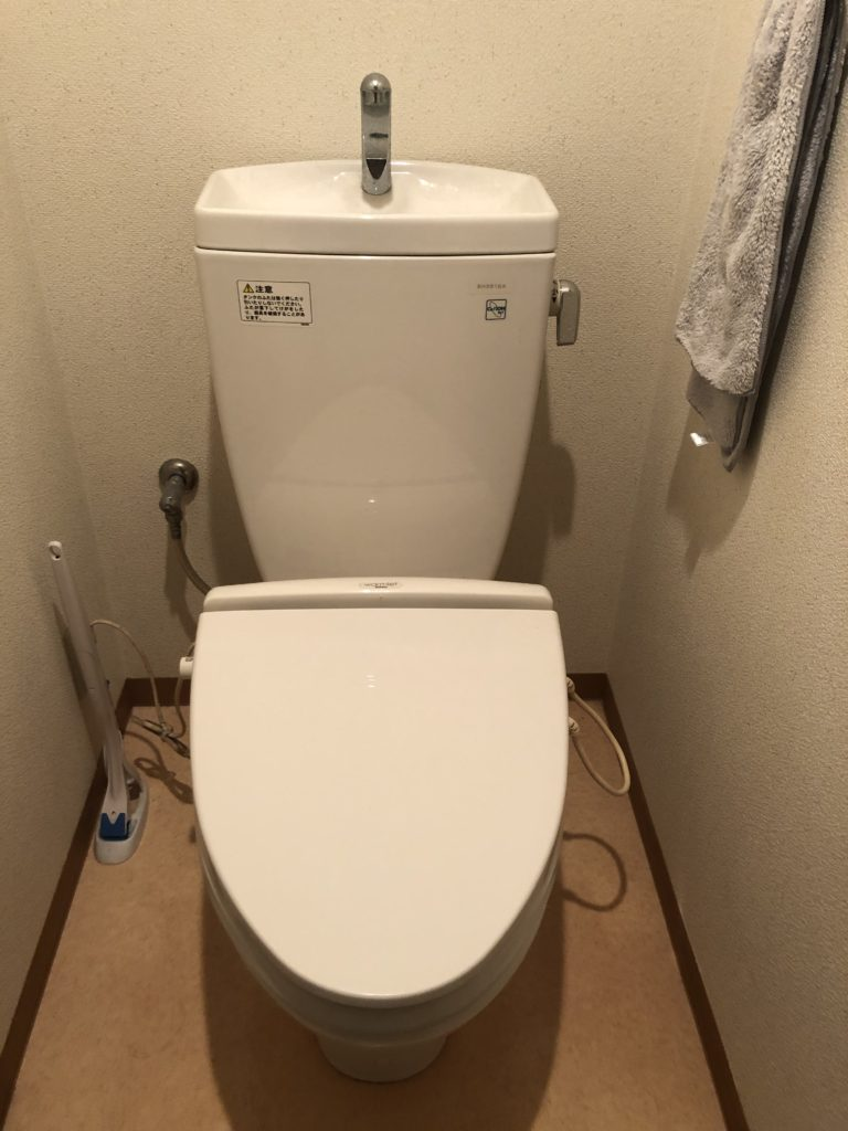 掛川市でトイレ水漏れ修理を行いました。