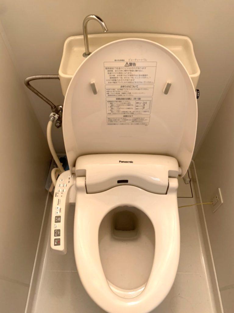富士宮市でトイレ詰まりトラブルを解決しました。