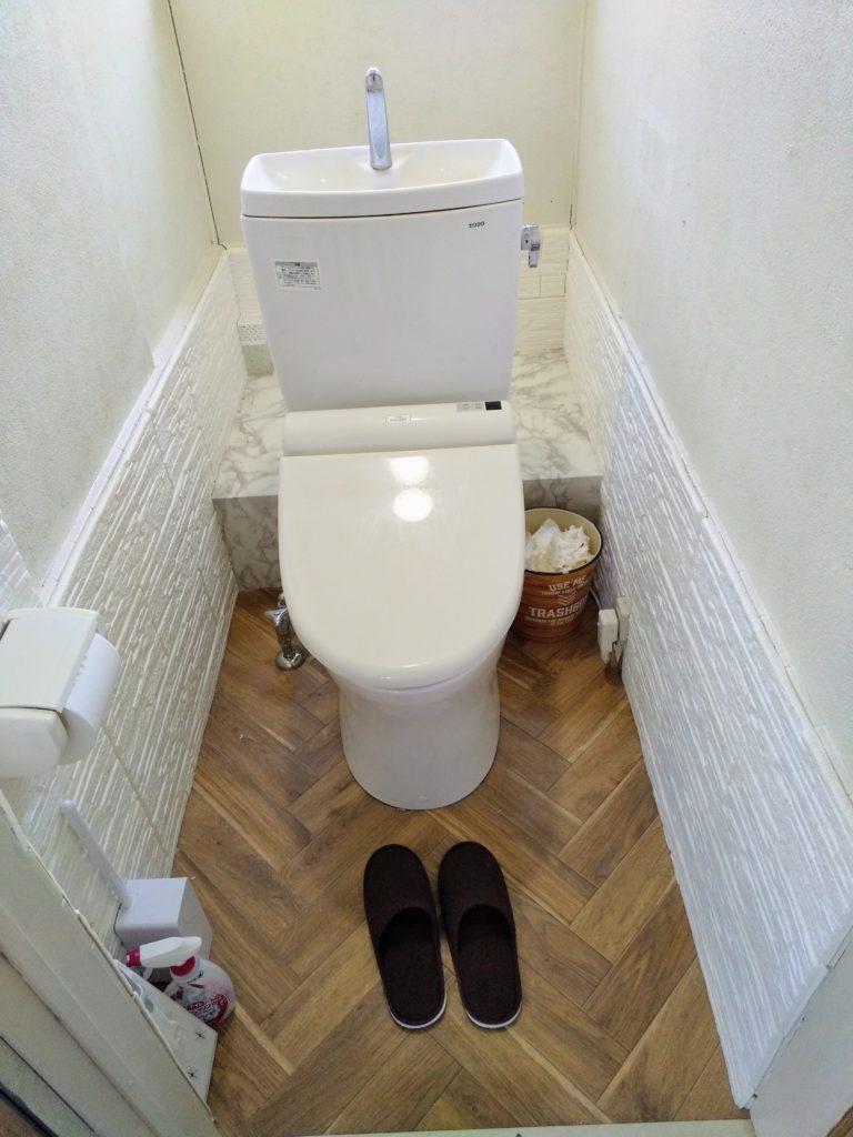 御殿場市でトイレつまり修理を行いました。