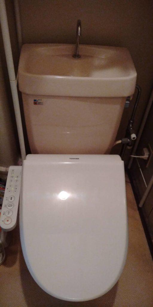 焼津市でトイレの水漏れ修理を行いました。