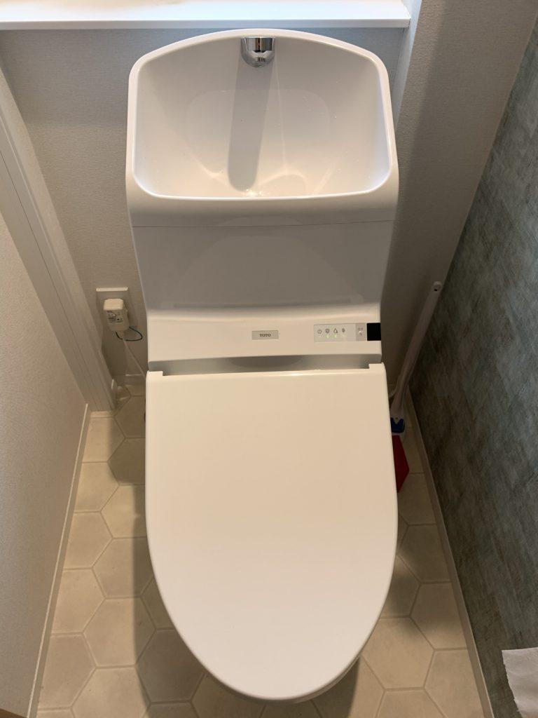 静岡市駿河区でトイレの水漏れ修理を行いました。