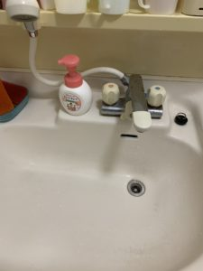 洗面の詰まり